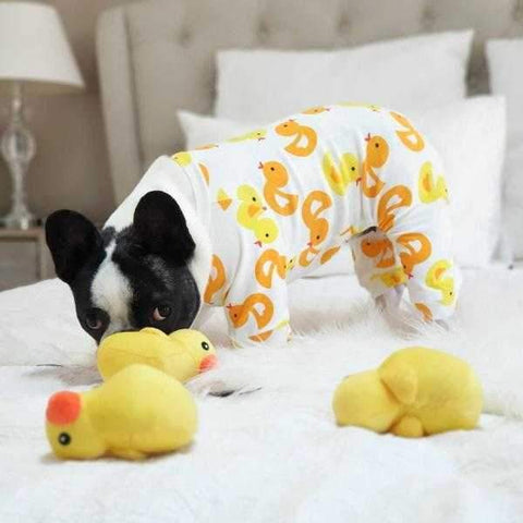 Image of What The Duck! Dog Pajamas-DoggyTopia