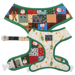 Xmas - Big & Little Dogs Silly Season Reversible Harness-DoggyTopia