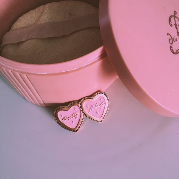 Sweetheart Locket Pin