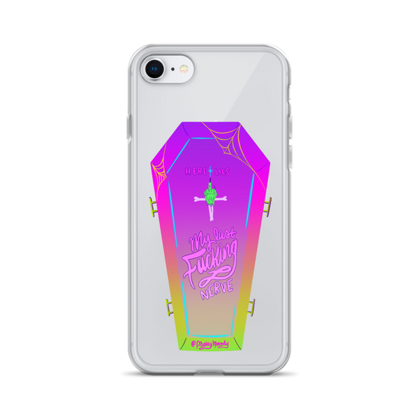Last Nerve iPhone Case