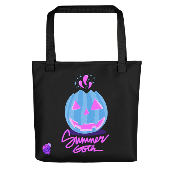 Summer Goth Tote Black