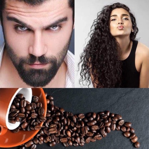 Caffeine & Argan Oil Therapy for Body & Hair Care