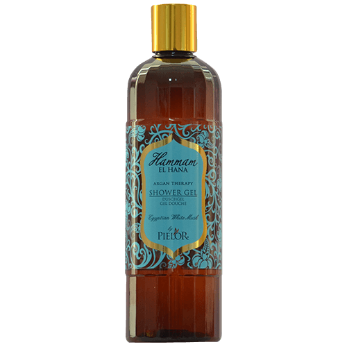 Argan Therapy Egyptian White Musk SHOWER GEL 400ml - - Gabriely Zamany