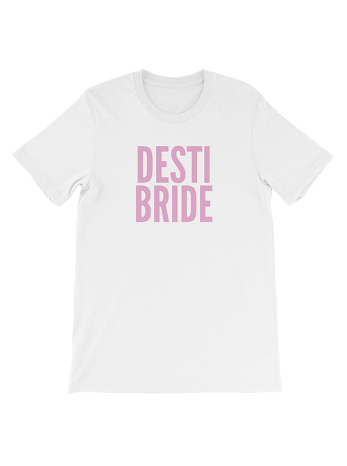 DESTI BRIDE TEE - WHITE
