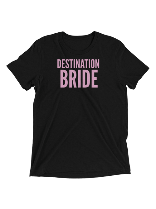 DESTINATION BRIDE TEE - BLACK