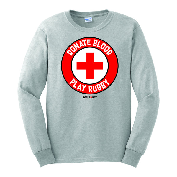 Donate Blood Long Sleeve T-Shirt