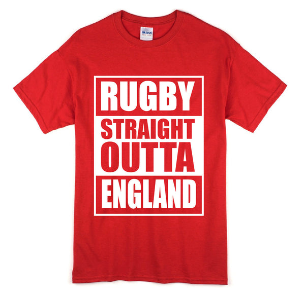Straight Outta England Short Sleeve T-Shirt