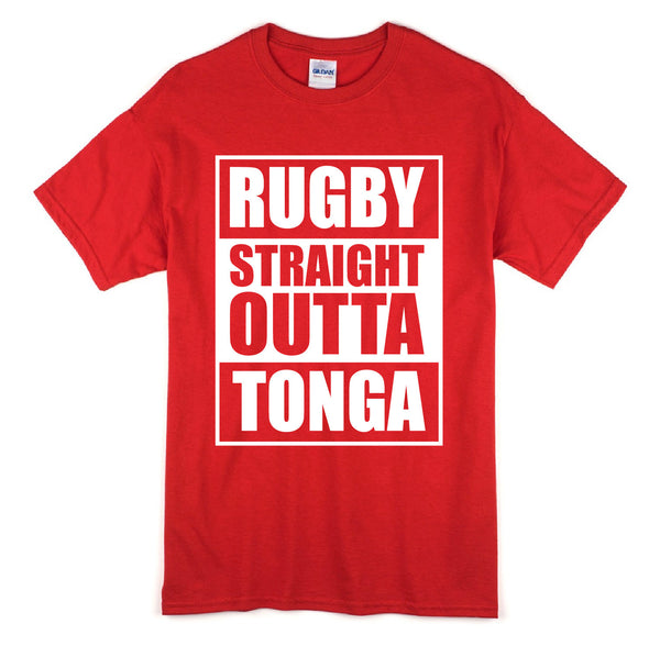 Straight Outta Tonga Short Sleeve T-Shirt