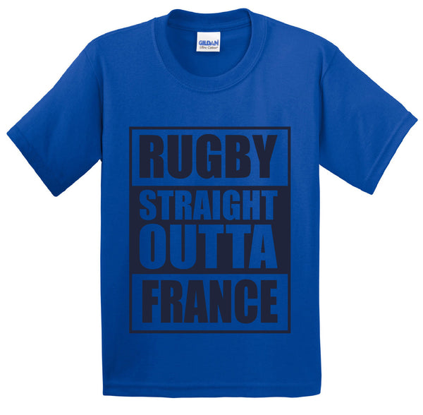Straight Outta France Short Sleeve T-Shirt