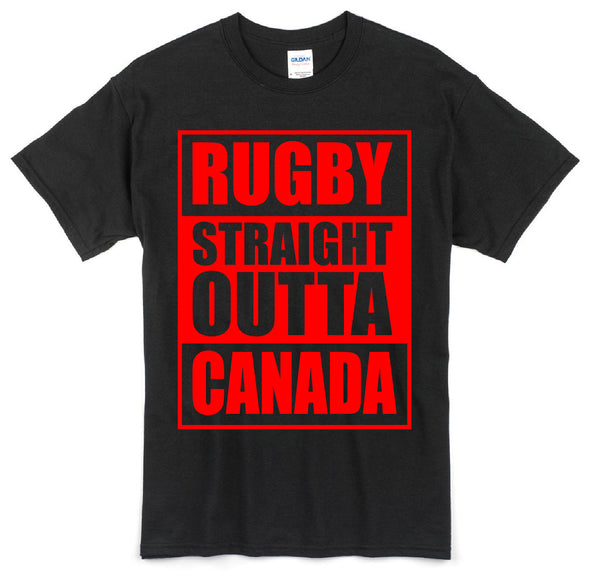 Straight Outta Canada Short Sleeve T-Shirt