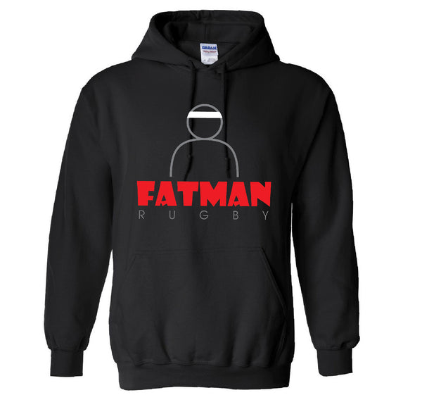 Fatman Rugby Hooded Sweatshirt