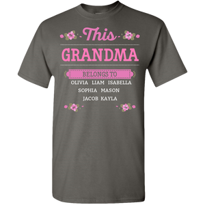 This Grandma Belongs To Adult Unisex Tee Standard T
