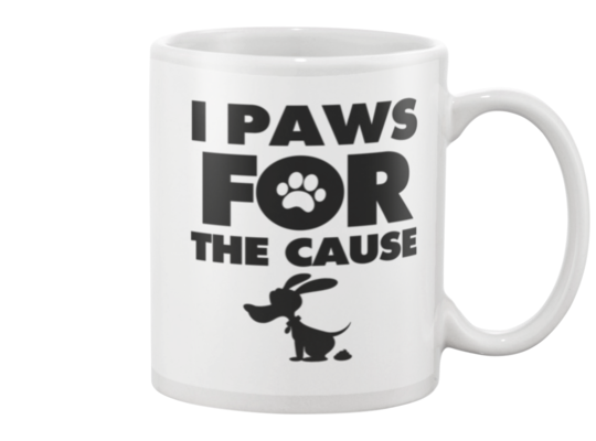 I Paws For The Cause Snoopy Pooper