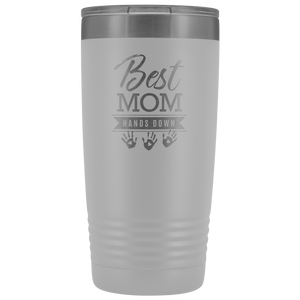 Best Mom Hands Down 20 Ounce Vacuum Tumbler