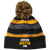 Boston Holloway Striped Beanie with Pom