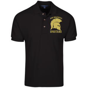 Spartans Port Authority Cotton Pique Knit Polo