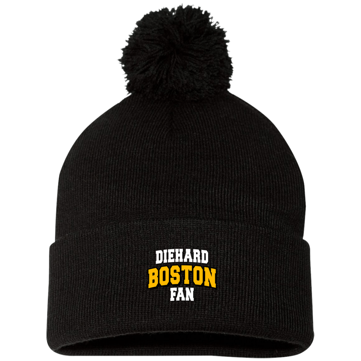 Boston Sportsman Pom Pom Knit Cap