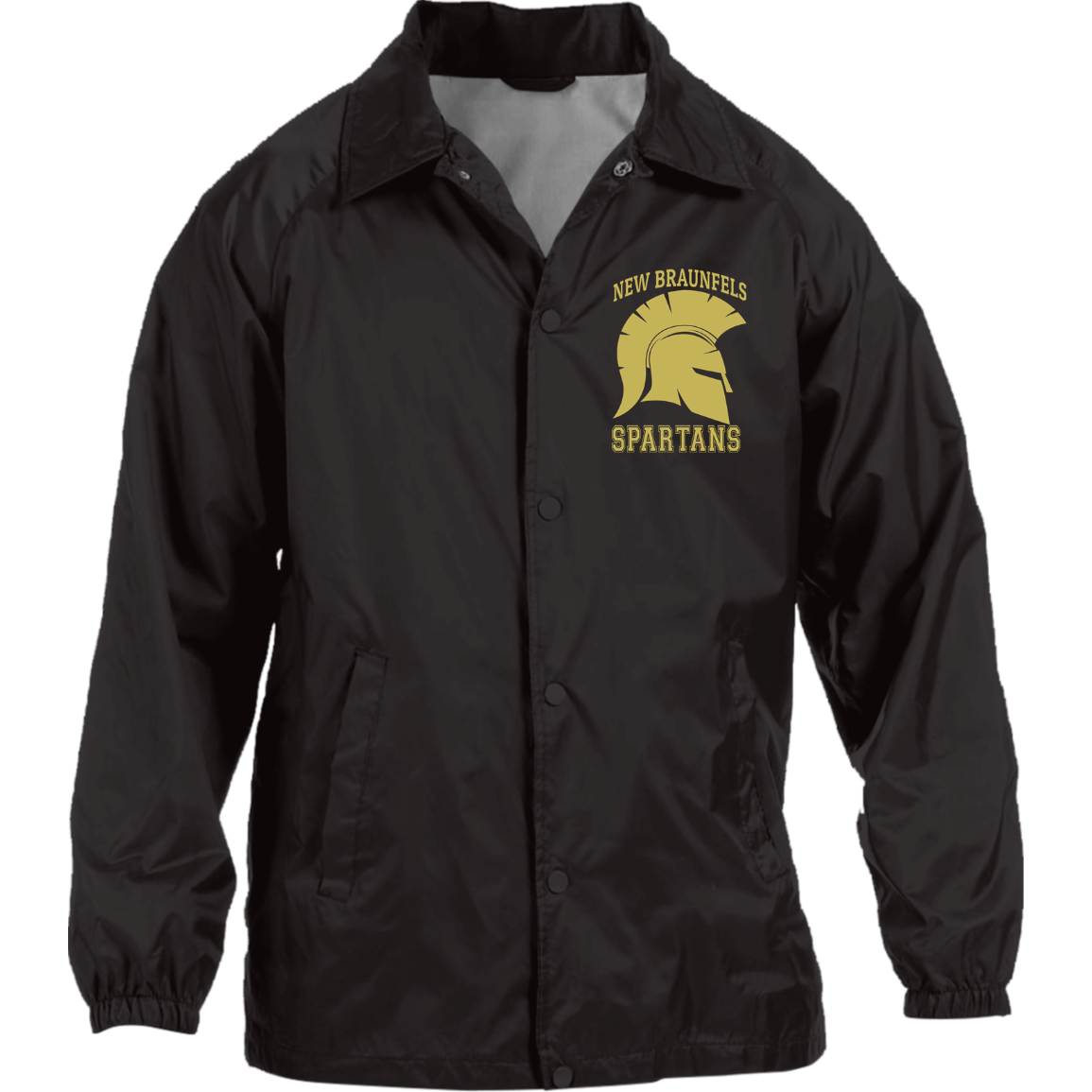 Spartans Harriton Nylon Staff Jacket