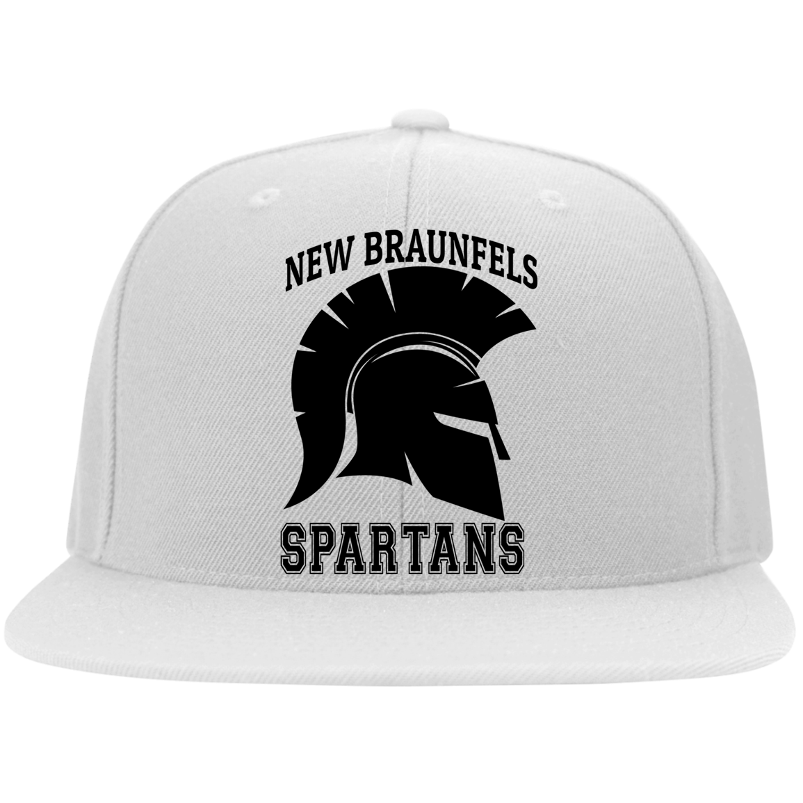 Spartans Flat Bill Twill Flexfit Cap