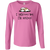 Shih Tzu Not LAT Ladies' LS Cotton T-Shirt