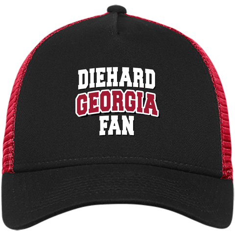 DieHard Georgia Fan New Era® Snapback Trucker Cap