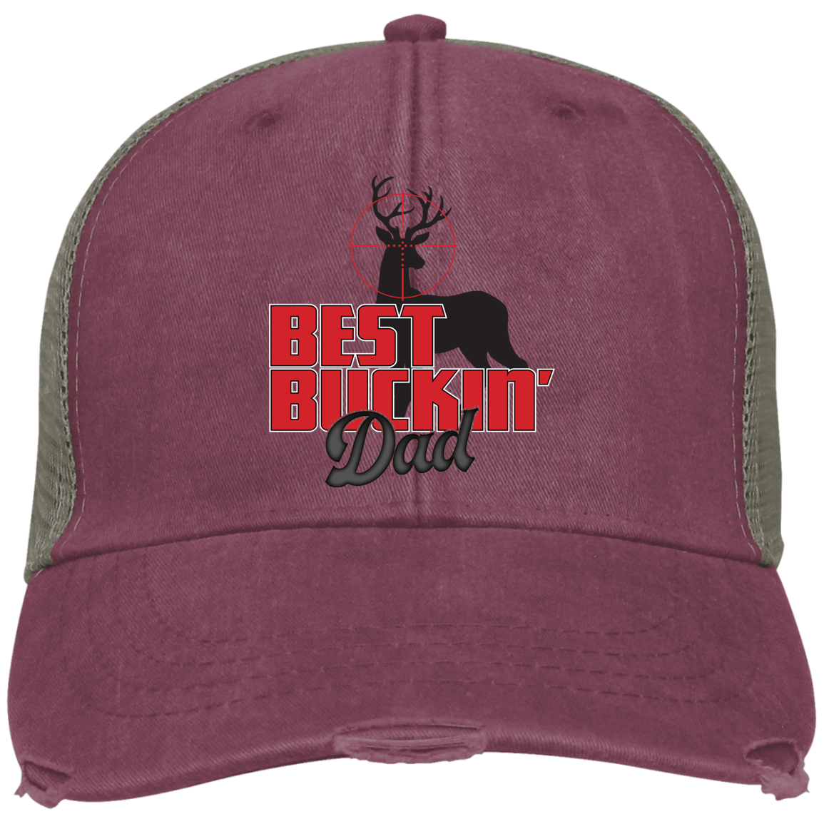 Best Buckin Dad Adams Ollie Cap