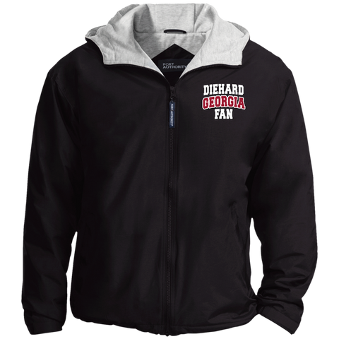 Diehard Georgia Fan Port Authority Team Jacket