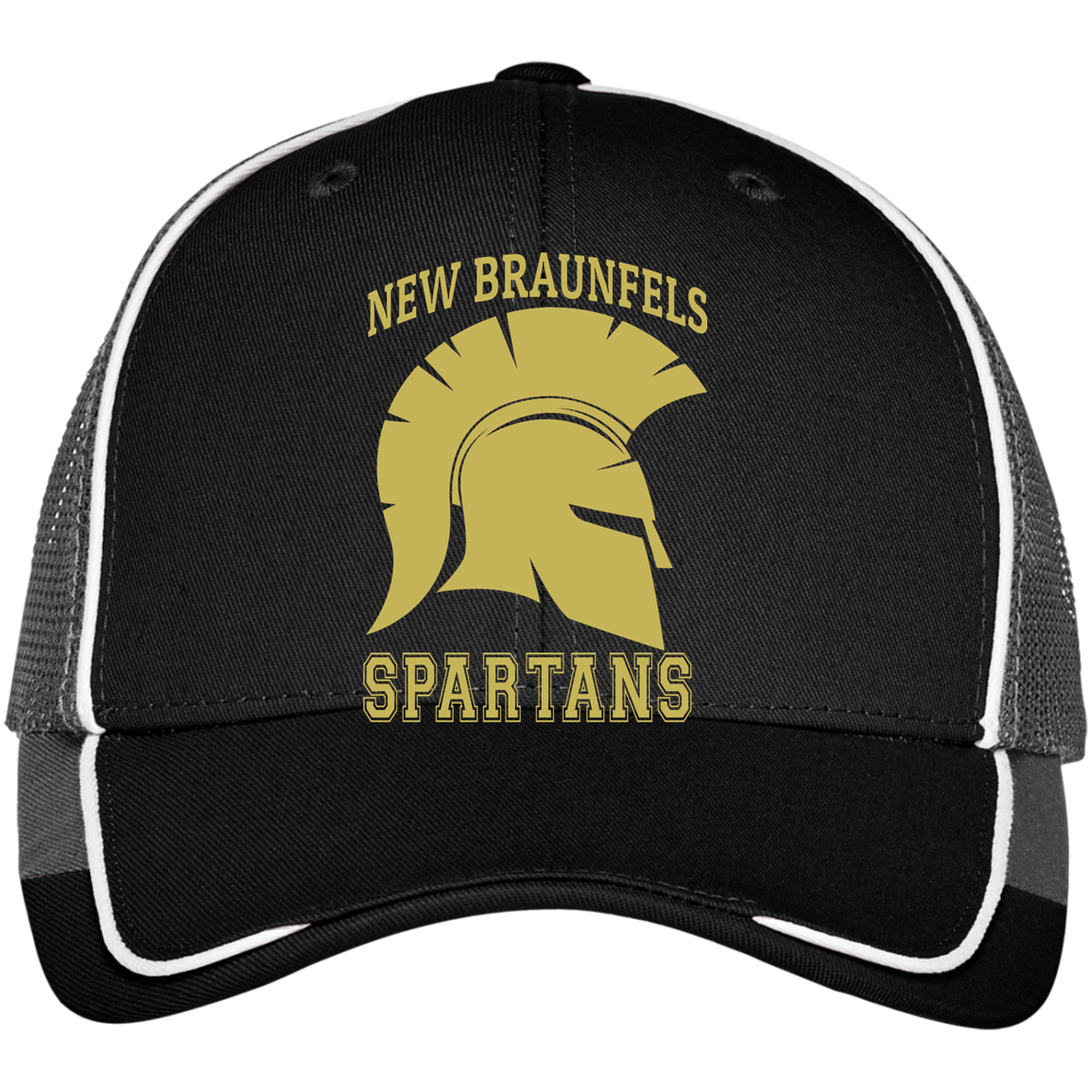 Spartans Colorblock Mesh Back Cap