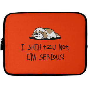 Shih Tzu Not Laptop Sleeve - 10 inch