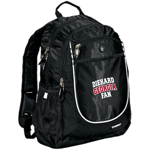 Diehard Georgia Fan OGIO Rugged Bookbag