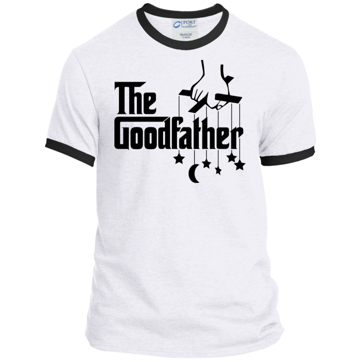 The GoodFather Port & Co. Ringer Tee