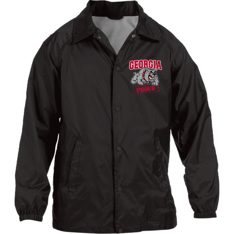 Georgia Proud Harriton Nylon Staff Jacket
