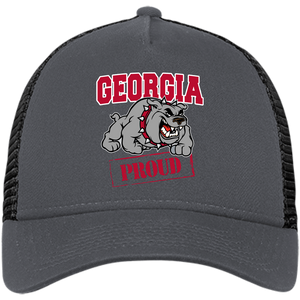 Georgia Proud New Era® Snapback Trucker Cap