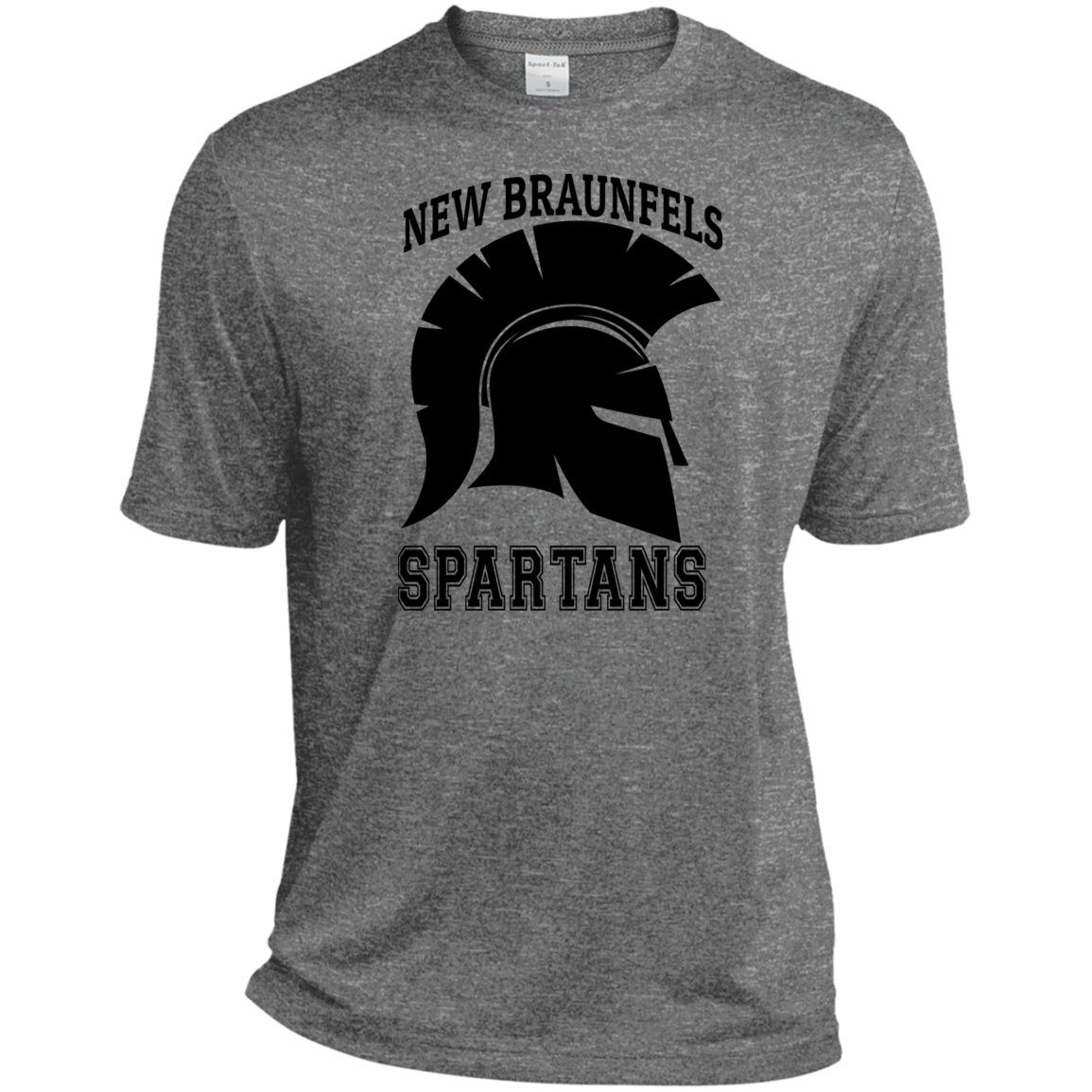 Spartans Sport-Tek Heather Dri-Fit Moisture-Wicking T-Shirt