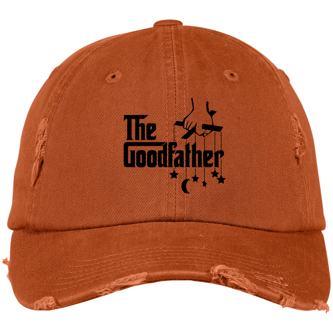The GoodFather District Distressed Dad Cap