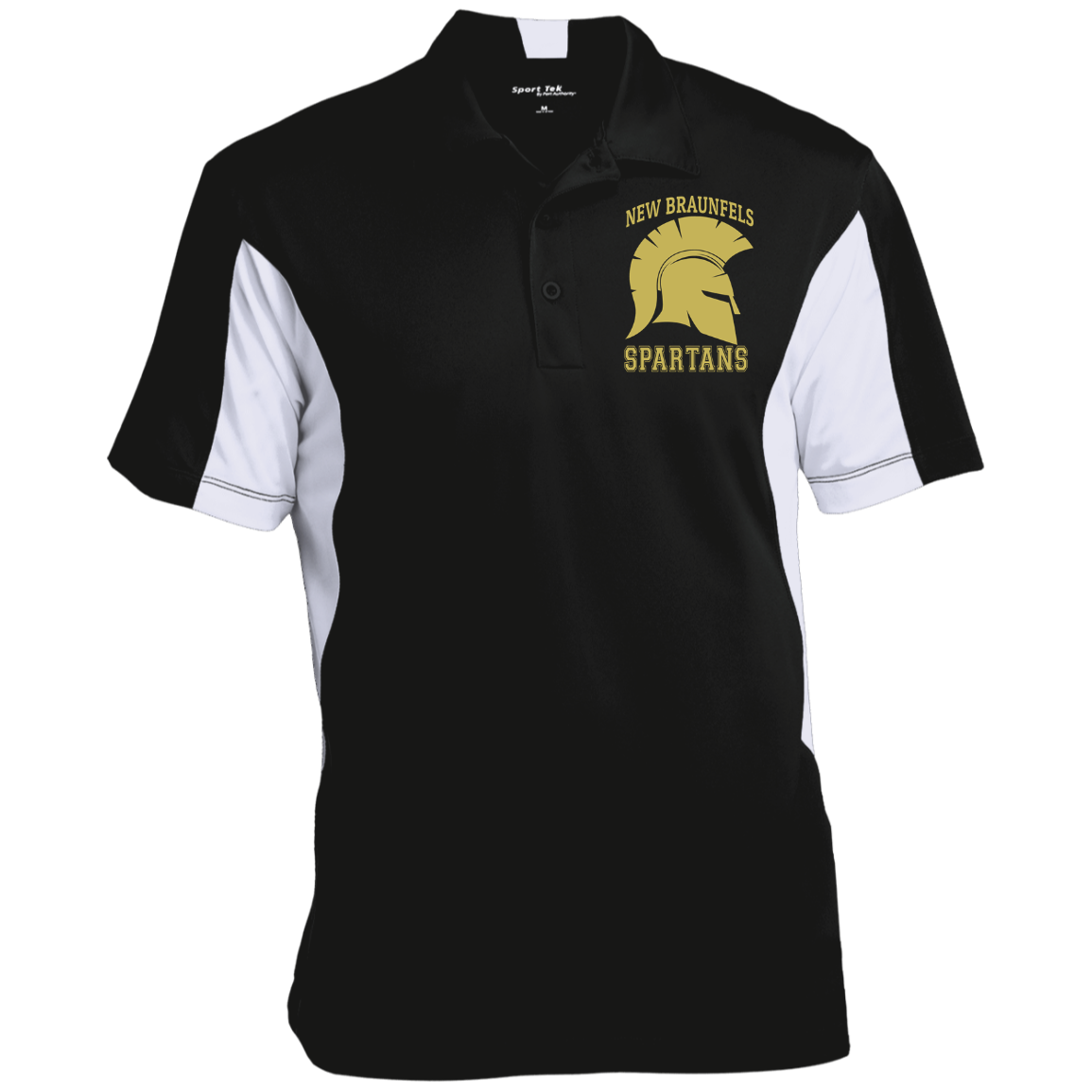 Spartans Sport-Tek Men's Colorblock Performance Polo