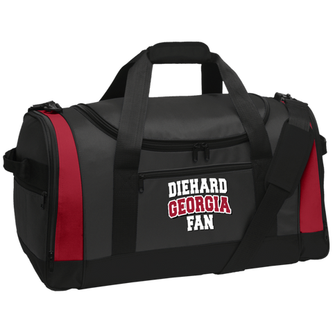 Diehard Georgia Fan Port Authority Travel Sports Duffel