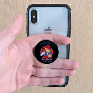 Ex Firefighter Phone Pop Grips