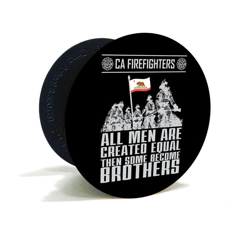California Firefighters Become Brothers Phone Pop Grips