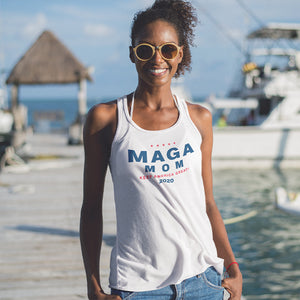 MAGA White Unisex Tank Top