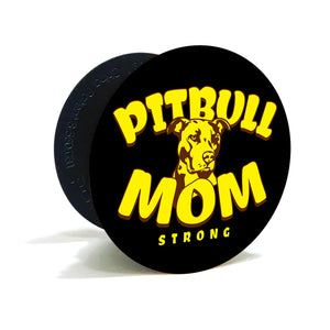 Pit Bull Mom Strong Phone Pop Grips