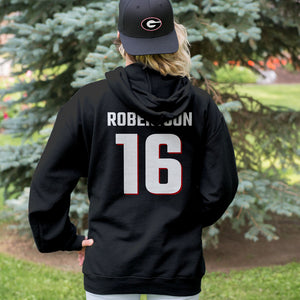 Georgia Any Name Any Number Adult Hoodie