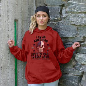 I Have The Right To Bear Arms Adult Hoodie
