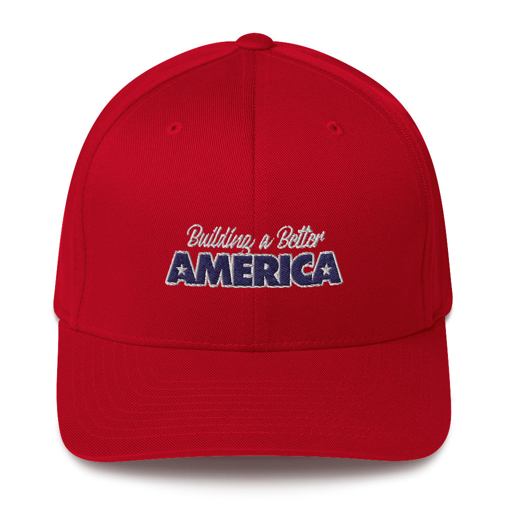 Building A Better America Structured Twill Cap