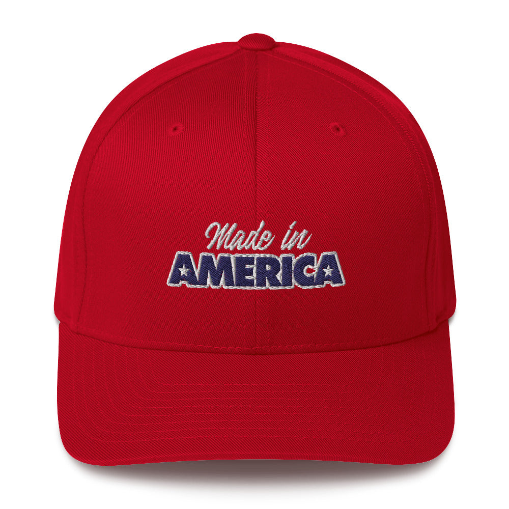 Made in America Structured Twill Cap