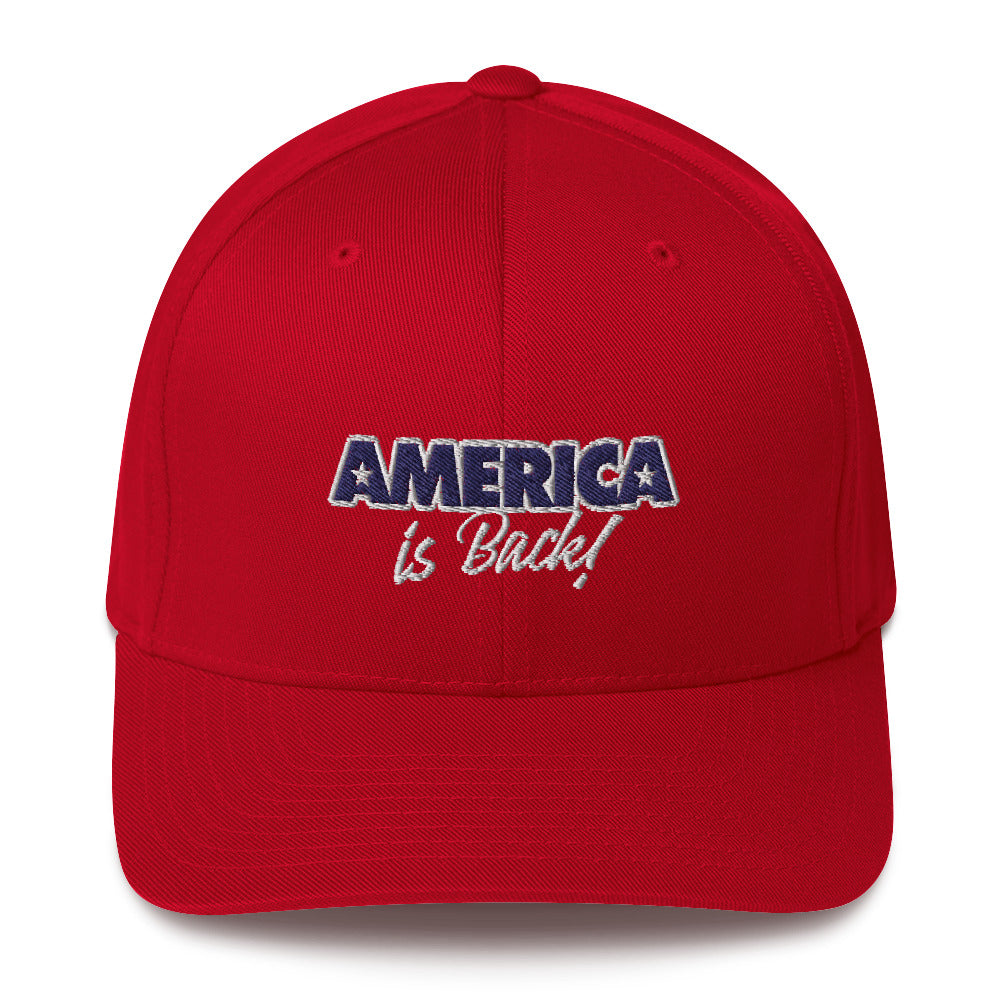 America Is Back Structured Twill Cap