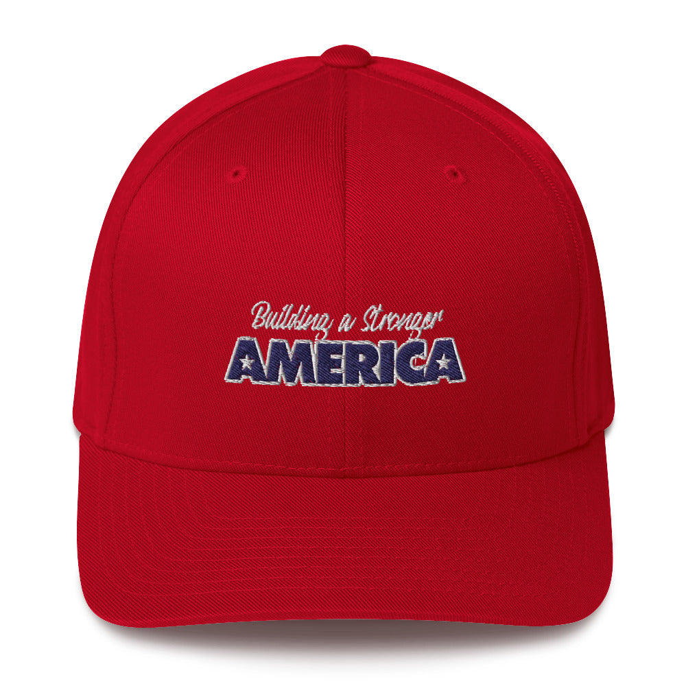 Building A Stronger America Structured Twill Cap