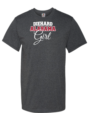 DieHard Alabama Girl Adult Unisex T-Shirt