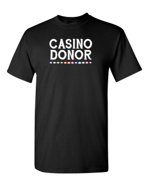 Casino Donor Adult Unisex Tee Standard T