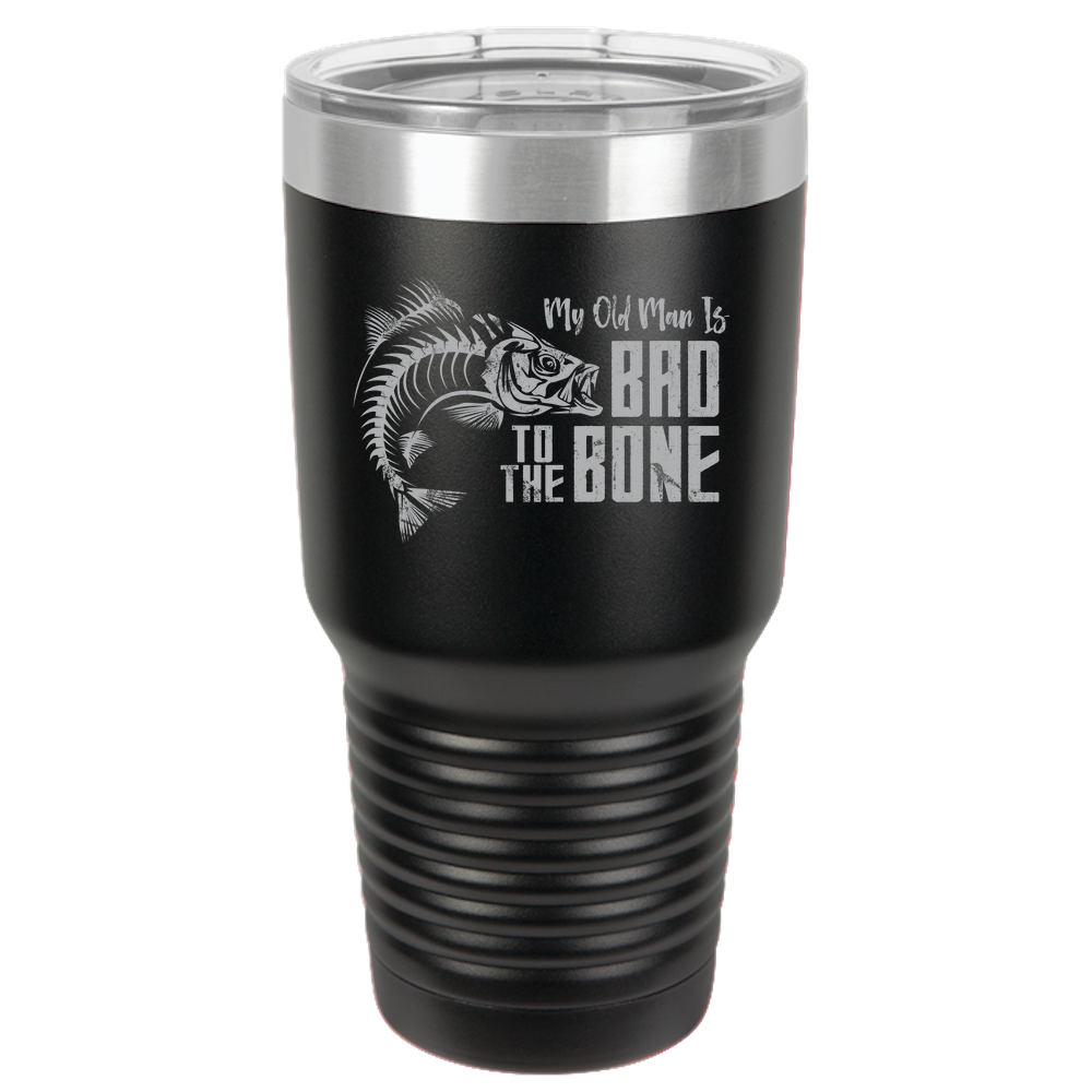 Bad To The Bone Polar Camel 30oz Ringneck Stainless Steel Tumbler